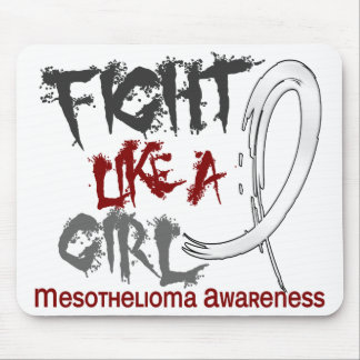 Fight Like A Girl 5 3 Mesothelioma Mouse Pad