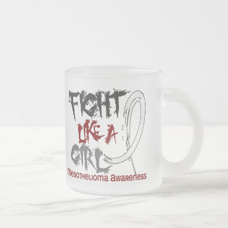 Fight Like A Girl 5 3 Mesothelioma Mugs