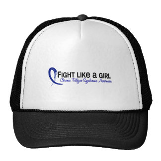 Fight Like A Girl 6.3 CFS Chronic Fatigue Syndrome Trucker Hat