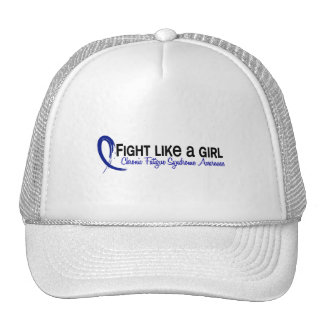 Fight Like A Girl 6.3 CFS Chronic Fatigue Syndrome Mesh Hat