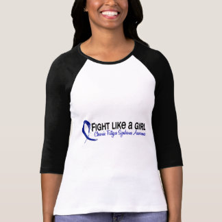 Fight Like A Girl 6.3 CFS Chronic Fatigue Syndrome Shirt