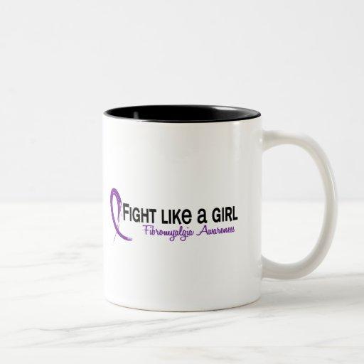 Fight Like A Girl 6.3 Fibromyalgia Coffee Mug