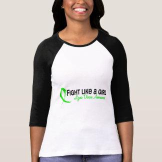 Fight Like A Girl 6.3 Lyme Disease Tee Shirts