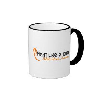 Fight Like A Girl 6 3 Multiple Sclerosis Mugs