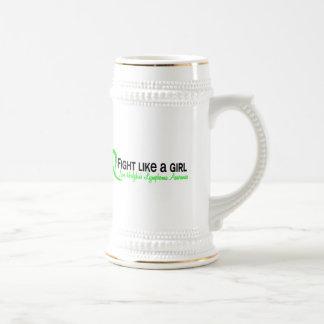 Fight Like A Girl 6.3 Non-Hodgkin's Lymphoma Mugs
