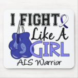 Fight Like A Girl ALS 15.2 Mousepads