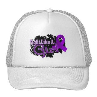 Fight Like A Girl Alzheimer s Disease 17 8 Mesh Hat