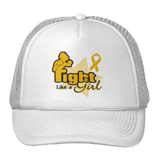 Fight Like a Girl - Appendix Cancer Cap