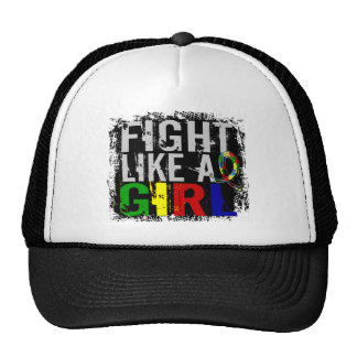 Fight Like a Girl Autism 31 8 Trucker Hat