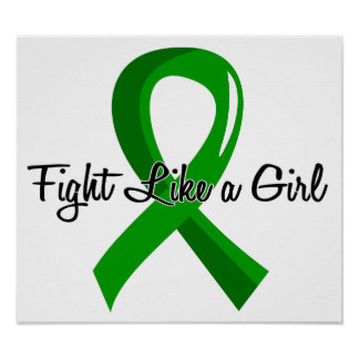 Fight Like A Girl Bile Duct Cancer 41 8 Print