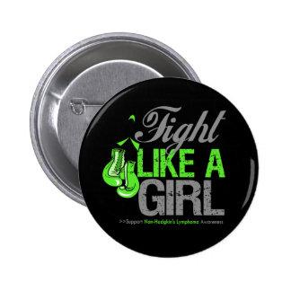 Fight Like a Girl Boxing - NonHodgkins Lymphoma Pins