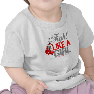 Fight Like a Girl Boxing - Oral Cancer Tees