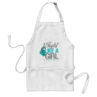 Fight Like a Girl Boxing Polycystic Kidney Disease Apron