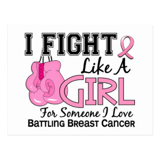 Fight Like A Girl Breast Cancer 15 6 Post Cards