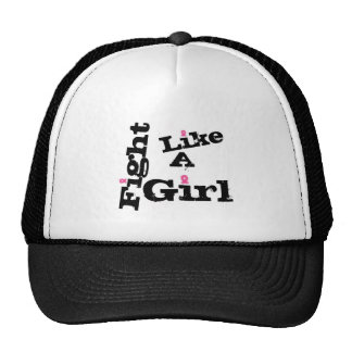 Fight like a girl breast cancer cap