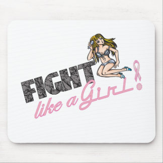 Fight Like A Girl Breast Cancer Mouse Pad