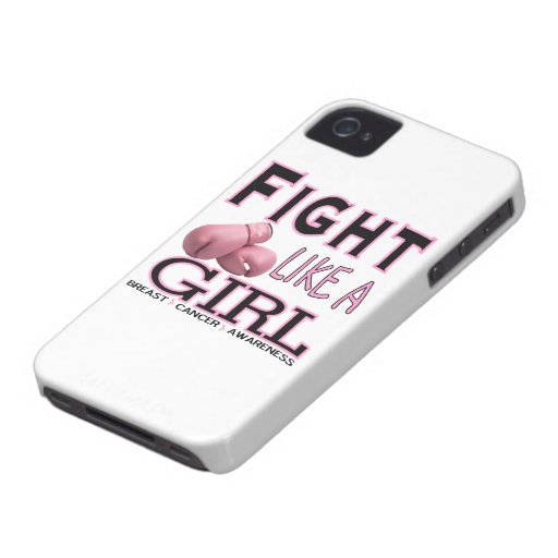 Fight Like a Girl Case-Mate iPhone 4 Cases