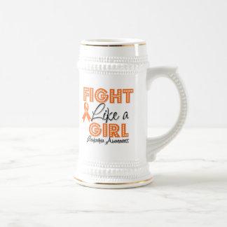 Fight Like a Girl Dazzling - Leukemia Coffee Mug