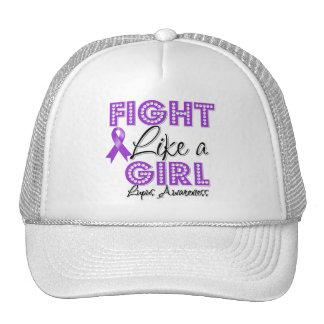 Fight Like a Girl Dazzling - Lupus Trucker Hat