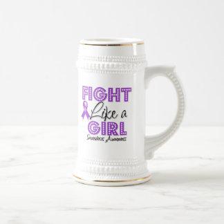 Fight Like a Girl Dazzling - Sarcoidosis Coffee Mugs