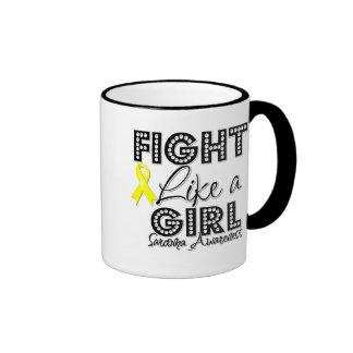 Fight Like a Girl Dazzling - Sarcoma Coffee Mug