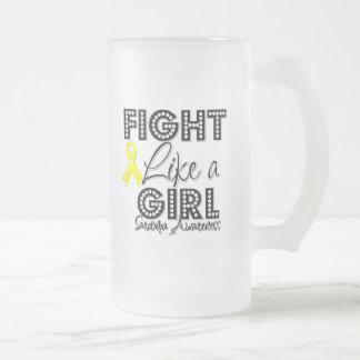 Fight Like a Girl Dazzling - Sarcoma Mug