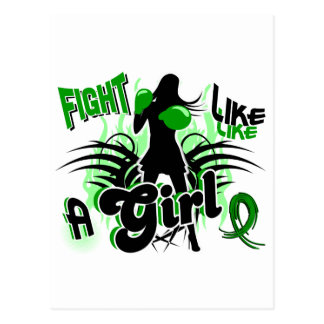 Fight Like A Girl Depression 35.8 Postcards