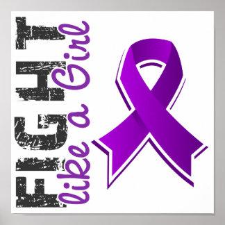 Fight Like A Girl Domestic Violence 28 8 Print