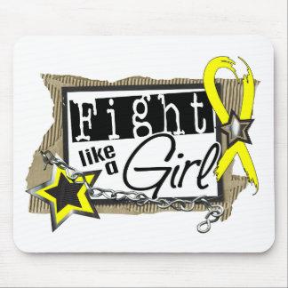 Fight Like A Girl Endometriosis 24 8 Mouse Pad