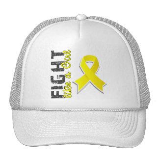 Fight Like A Girl Endometriosis 28 8 Mesh Hats