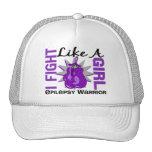 Fight Like A Girl Epilepsy 8.2 Mesh Hat