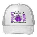 Fight Like A Girl Epilepsy 8.3 Hats