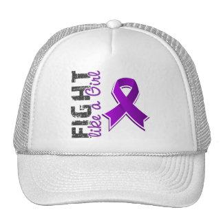 Fight Like A Girl Fibromyalgia 28 8 Mesh Hat