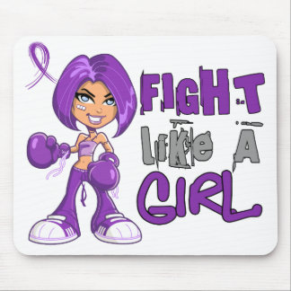 Fight Like a Girl Fibromyalgia 42 8 png Mousepad