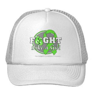 Fight Like a Girl Gloves - NonHodgkins Lymphoma Trucker Hat
