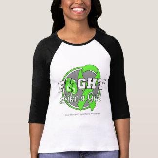 Fight Like a Girl Gloves - NonHodgkins Lymphoma Tee Shirts