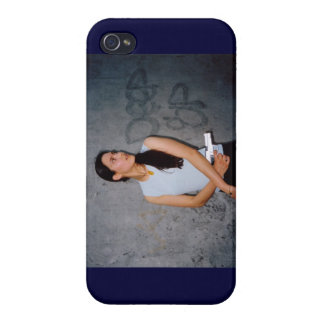 Fight like a girl! Iphone 4 Case