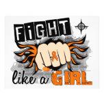 Fight Like A Girl Leukaemia 27.8 Personalized Flyer