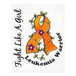 Fight Like A Girl Leukaemia 29.4 Flyers
