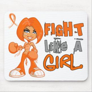 Fight Like a Girl Leukemia 42 8 png Mousepad