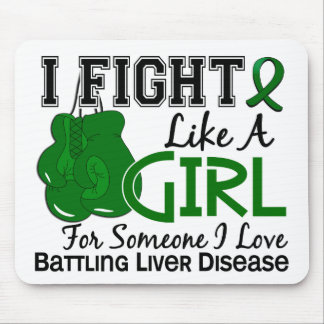 Fight Like A Girl Liver Disease 15 6 Mouse Pad