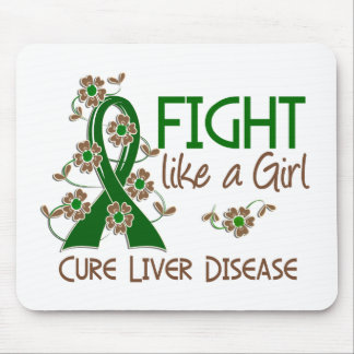 Fight Like A Girl Liver Disease 38 82 Mouse Pads