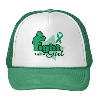 Fight Like a Girl - Liver Disease Mesh Hats