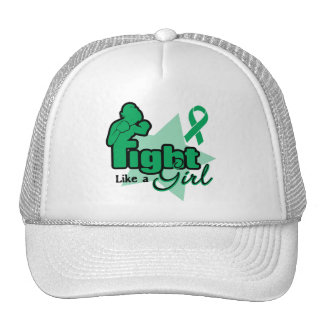 Fight Like a Girl - Liver Disease Cap