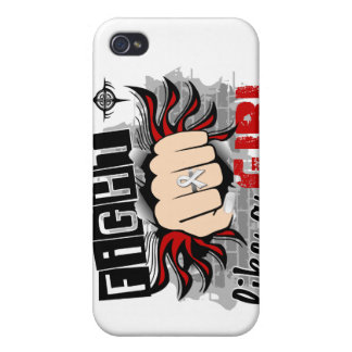 Fight Like A Girl Lung Cancer 27 8 Cases For iPhone 4