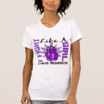 Fight Like A Girl Lupus 8.2 T Shirt