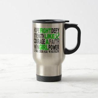 Fight Like A Girl Lyme Disease 23 4 Coffee Mug