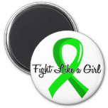 Fight Like A Girl Lyme Disease 41.8 Refrigerator Magnet