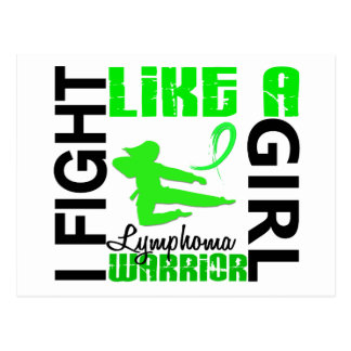 Fight Like A Girl Lymphoma 3 2 Post Cards