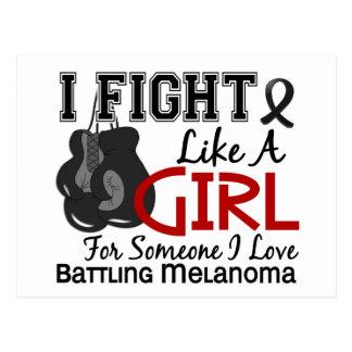 Fight Like A Girl Melanoma15 6 Postcards